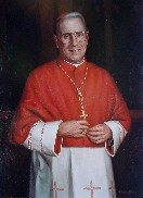 Portrait of Cardinal John O'Conner by Basil Baylin