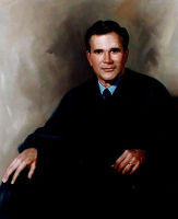 Portrait of Irad Ingraham<br>New York State Supreme Court Justice<br>30 x 40 inches, oil/canvas